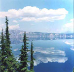 Crater Lake Reflection